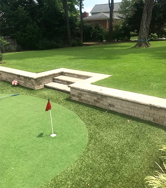 Bryan Lawn Care Artificial Grass Install